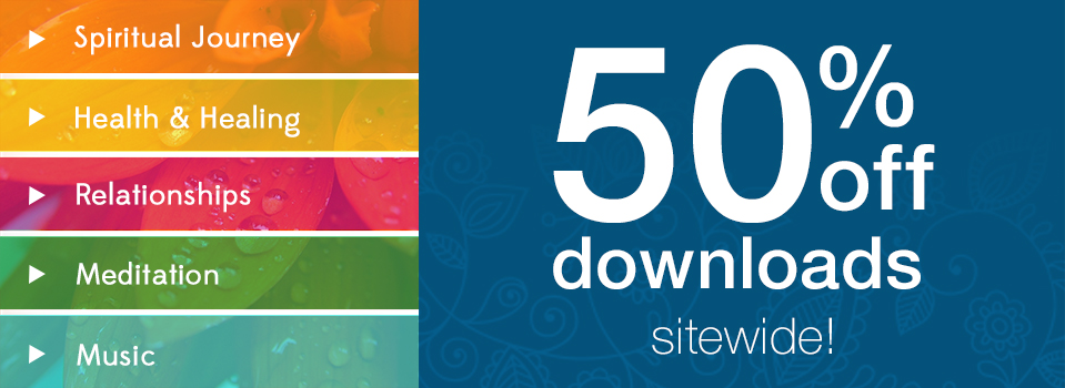 SALE: 50% Off All Downloads