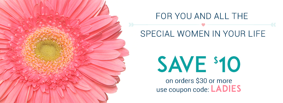 SALE: Save $10 on orders $30+