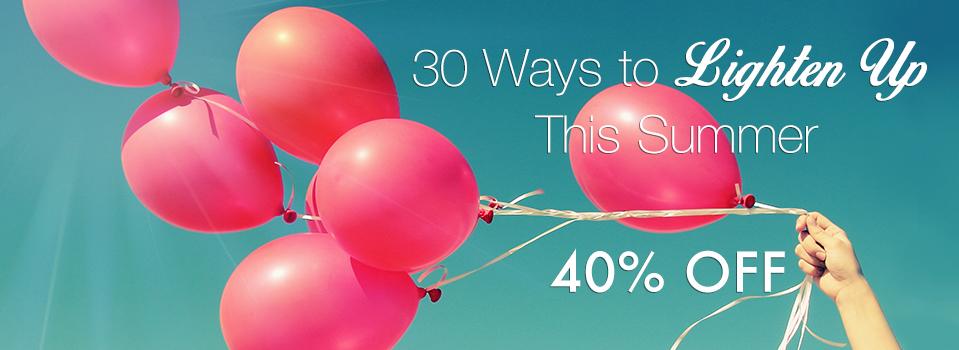 SALE: 40% Off