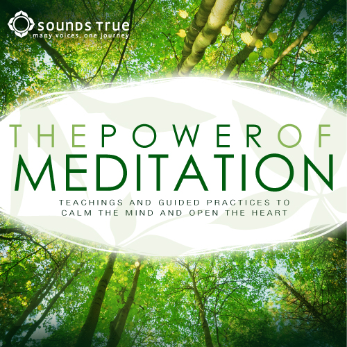 The Power of Meditation: Teachings and Guided Practices to Calm the Mind and Open the Heart