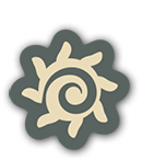 The shamanic journey icon