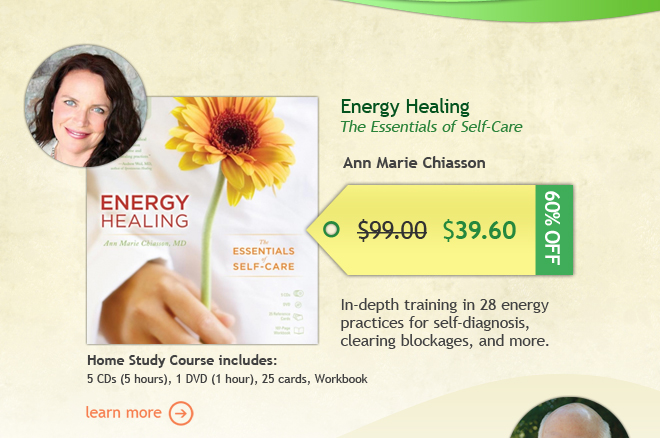 60% Off Energy Healing home study course--Only $39.60