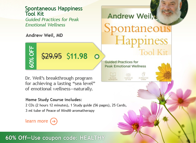 60% Off Spontaneous Happiness Tool Kit: Only $11.98