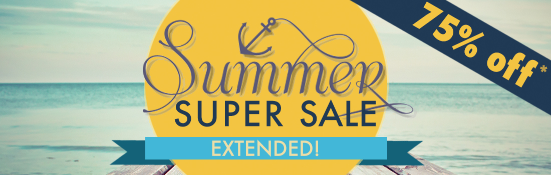 75% OFF 75 Favorites Summer Super Sale