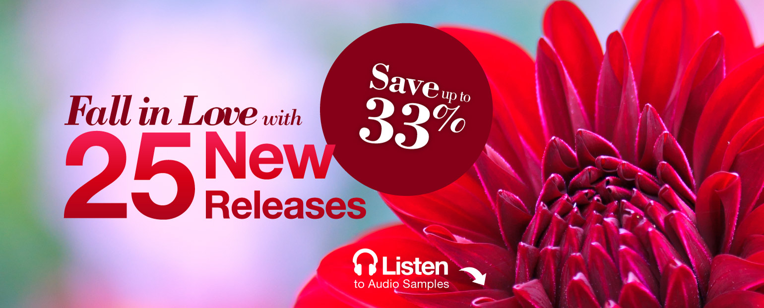 Fall In Love with 25 New Releases: Save up to 33%