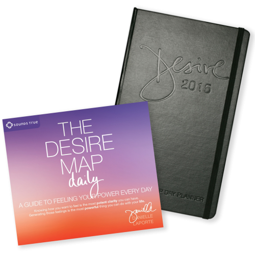 2015 Desire Map Day Planner and The Desire Map Daily Combo