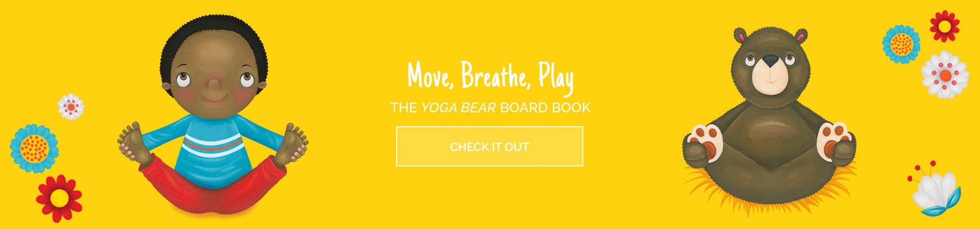 Yoga Bear Boardbook
