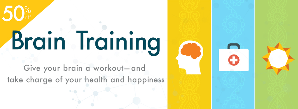SALE: 50% Off Brain Training