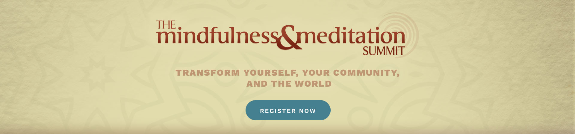 Mindfulness & Meditation Summit