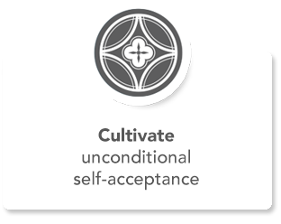 Cultivate unconditioanl self-acceptance