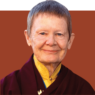 Pema Chödrön pictured