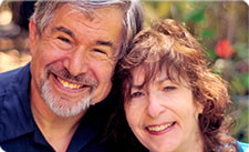 Photo of Bret Lyon, PhD, and Sheila Rubin, LMFT
